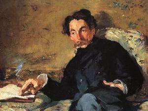 Mallarmé by Édouard Manet (1876)