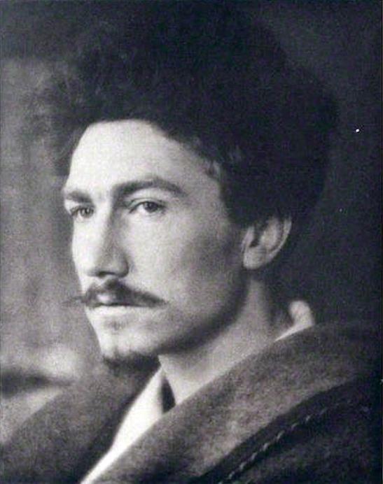 """Ezra Pound 2"" by Alvin Langdon Coburn (1882–1966)"